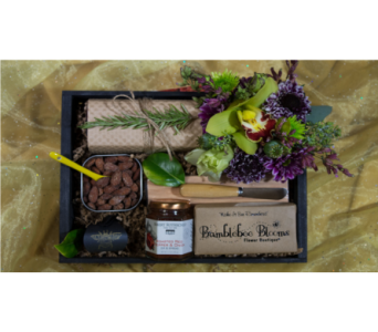 Baked Brie Basket in Reno NV, Bumblebee Blooms Flower Boutique