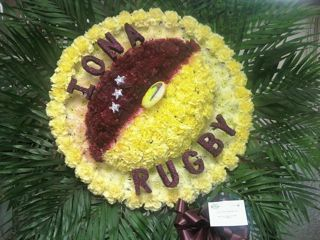 Iona Rugby Specialty Piece in New Milford NJ, Denis Flowers