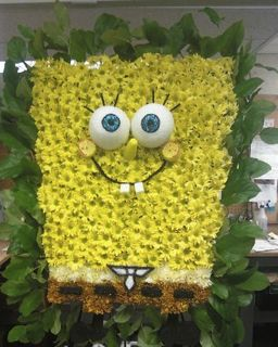 Spongebob Specialty Piece in New Milford NJ, Denis Flowers