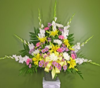 Homeward Bound Funeral Basket in Washington DC, Palace Florists