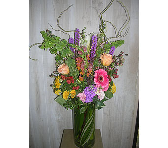 Pop Over To Spring in Dallas TX, Petals & Stems Florist