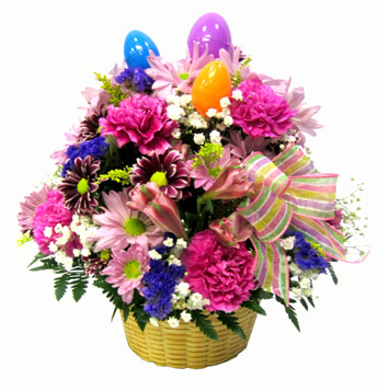 Classic Easter Basket  in Scranton PA, McCarthy Flower Shop<br>of Scranton