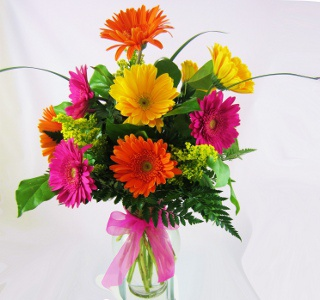 Gorgeous Gerberas in Raleigh NC, North Raleigh Florist
