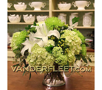 Classic All White Floral Design in Etobicoke ON, VANDERFLEET Flowers