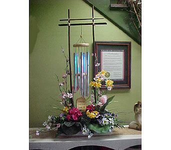Silk Chime Arrangement in Somerset PA, Somerset Floral
