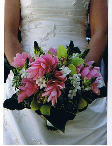 Pink and White Bouquet in Cerritos CA, The White Lotus Florist