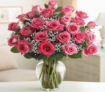 Ultimate Elegance Premium Long Stem Pink Roses in El Cajon CA, Conroy's Flowers