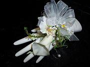 Single Calla Lily Wrist Corsage in Mount Vernon OH, Williams Flower Shop