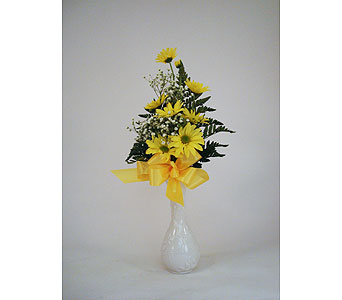 Sunny Bud Vase in Indianapolis IN, Gillespie Florists