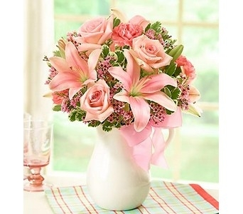 Pink Lemonade Bouquet�  in Concord CA, Jory's Flowers