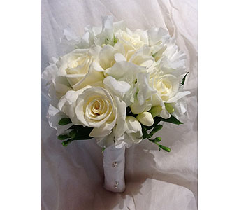 Communion-Bouquet-Pure in Massapequa Park NY, Bayview Florist & Montage  1-800-800-7304