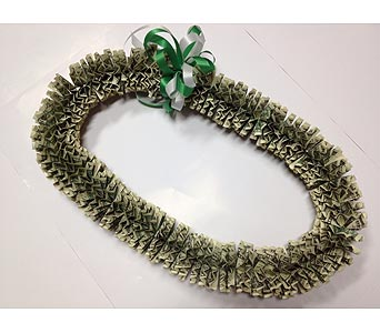 $100 Money-lei (3 weeks advance notice) in Carlsbad CA, Ohana Creations