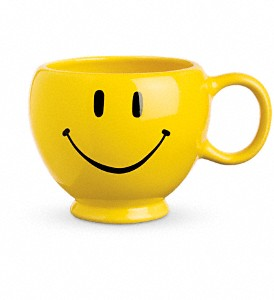 Smiley Face Mug in Chapel Hill NC, Floral Expressions and Gifts