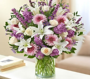 Ultimate Elegance� - Lavender and White Ultimate E in Chicago IL, Sauganash Flowers