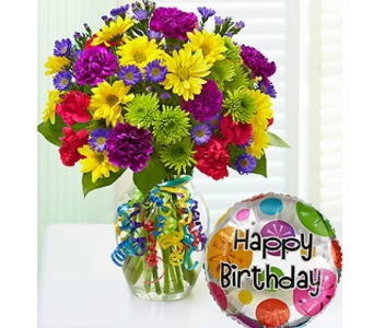 It's Your Day Bouquet Happy Birthday in Watertown CT, Agnew Florist