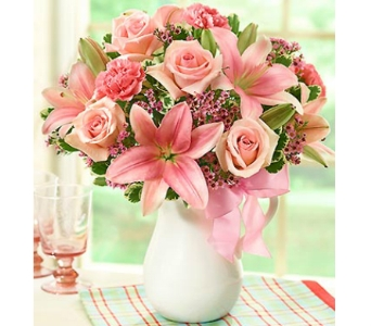 Pink Lemonade Bouquet� in Watertown CT, Agnew Florist