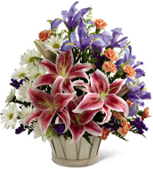 Wondrous Nature Bouquet in Nationwide MI, Wesley Berry Florist, Inc.