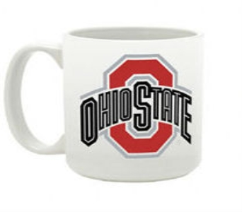 OSU Traditional White Mug in Columbus OH, OSUFLOWERS .COM