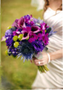 Vivid Bridal Bouquet in St Catharines ON, Vine Floral