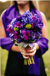 Vivid Bridesmaid Bouquet in St Catharines ON, Vine Floral