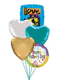Fathers Day Balloon Bouquet in Bonita Springs FL, Bonita Blooms Flower Shop, Inc.