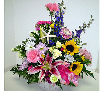 Summer by the Seashore in Falmouth MA, Falmouth Florist 508-540-2020