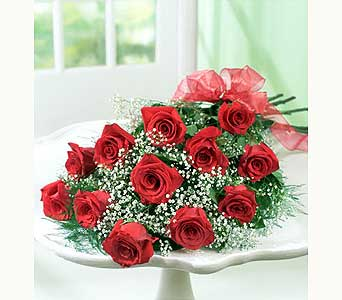 One Dozen Roses Wrapped in Fremont CA, Kathy's Floral Design