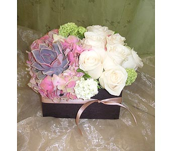 Box of Romance in West Los Angeles CA, Westwood Flower Garden