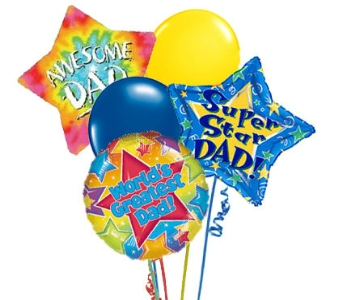 Father's Day Balloon Bouquet in Birmingham AL, Norton's Florist