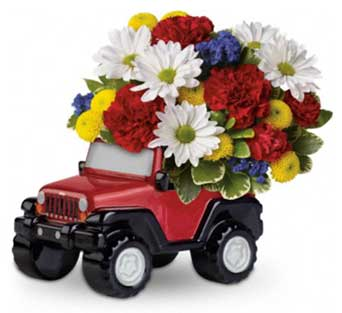 Jeep� Wrangler Blazing Trails Bouquet in McLean VA, MyFlorist