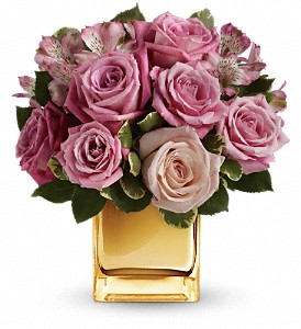 A Radiant Romance by Teleflora in Cleves OH, Nature Nook Florist & Wine Shop