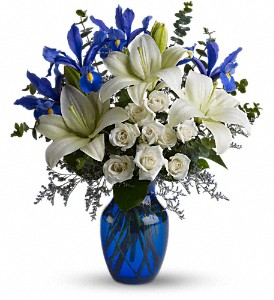 Blue Horizons in Mount Morris MI, June's Floral Company & Fruit Bouquets