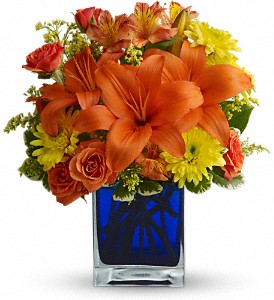 Summer Nights by Teleflora in Marshalltown IA, Lowe's Flowers, LLC