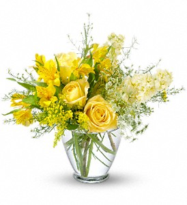 Sunny Love Bouquet in Canandaigua NY, Flowers By Stella