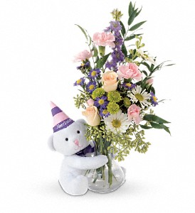 Teleflora's Party Bear in Norristown PA, Plaza Flowers