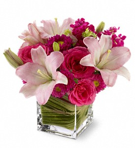 Teleflora's Posh Pinks in Ferndale MI, Blumz...by JRDesigns