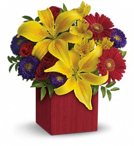 Teleflora's Summer Brights in Bedford IN, Bailey's Flowers & Gifts