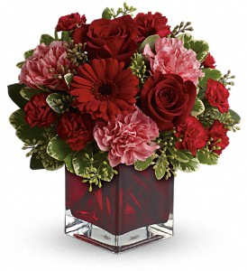 Together Forever by Teleflora in East Quogue NY, Roses And Rice
