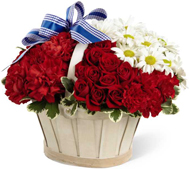 Justice Basket in Nationwide MI, Wesley Berry Florist, Inc.