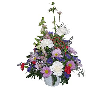 VF22 ''Valentine's Day'' Bouquet in Oklahoma City OK, Array of Flowers & Gifts