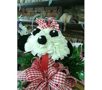 Doggy Vase in Staunton VA, Rask Florist, Inc.