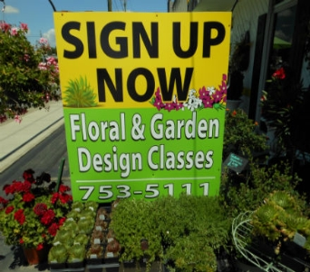 Sign Up for Classes! in Amelia OH, Amelia Florist Wine & Gift Shop