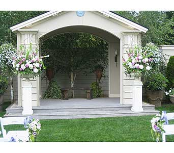 Wedding Ceremony in Kirkland WA, Fena Flowers, Inc.
