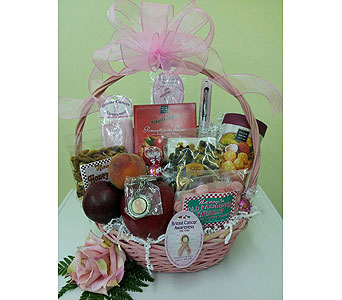 Think Pink in Charlotte NC, Wilmont Baskets & Blossoms