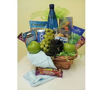 Nuts for fitness in Charlotte NC, Wilmont Baskets & Blossoms