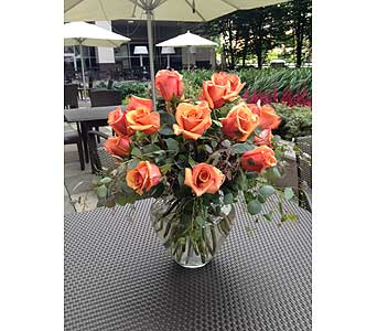 Summer Roses in Bellevue WA, CITY FLOWERS, INC.