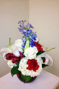 America the Beautiful in Naples FL, Gene's 5th Ave Florist