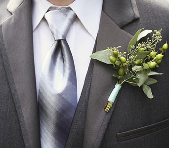 Ashley Boutonniere in Sevierville TN, From The Heart Flowers & Gifts