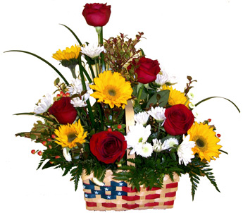 Star Spangled Basket in Scranton PA, McCarthy Flower Shop<br>of Scranton