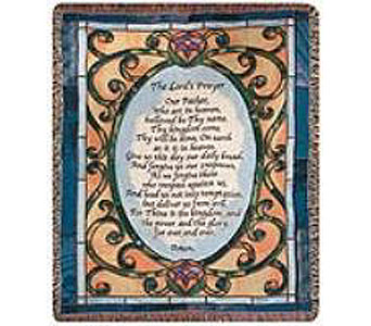 The Lords Prayer Afghan in Madison WI, Felly's Flowers